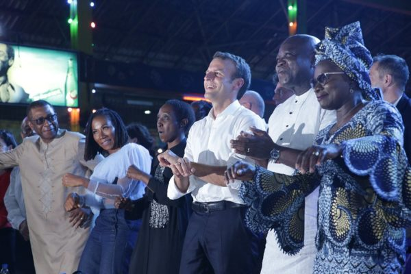 Macron-at-the-Afrika-Shrine-with-Lagos-State-Governor-Ambode