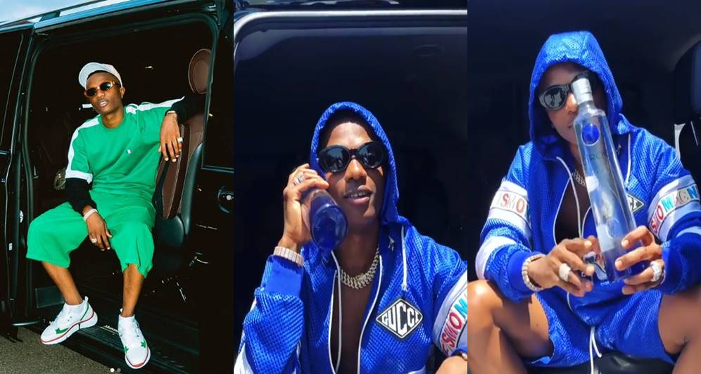 57a5b7074 Wizkid bags endorsement deal with Ciroc - Swift Wave Radio